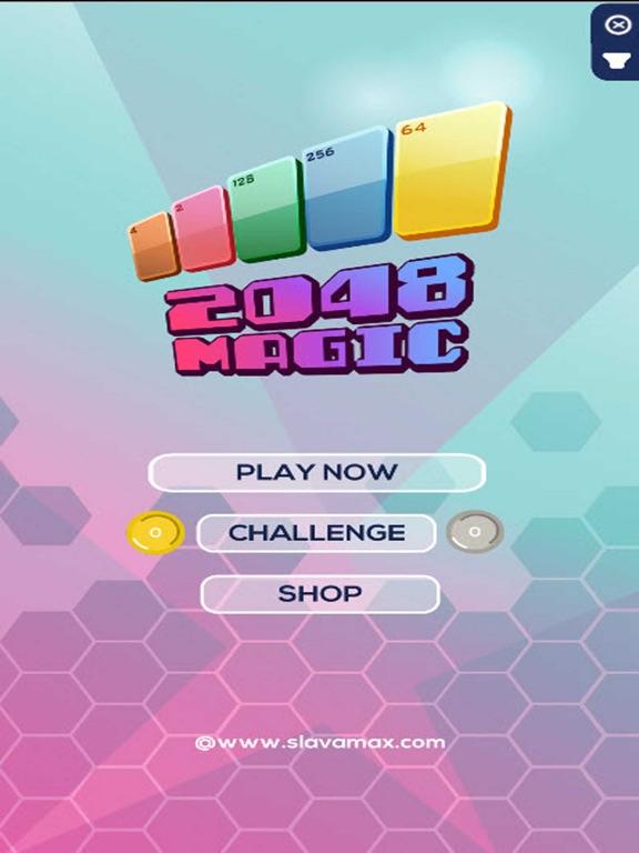Magic 2048 Cards screenshot #1