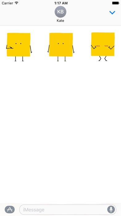 Animated Square Emoji Stickers screenshot 2