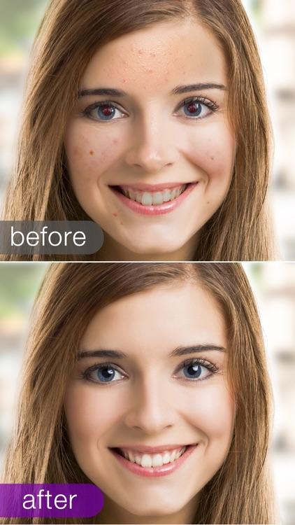 Visage: airbrush photo & face screenshot-3
