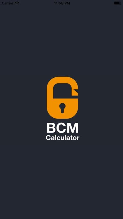 BCM Calculator