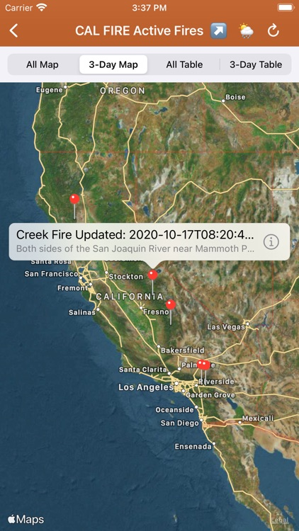 Wildfire Info screenshot-6