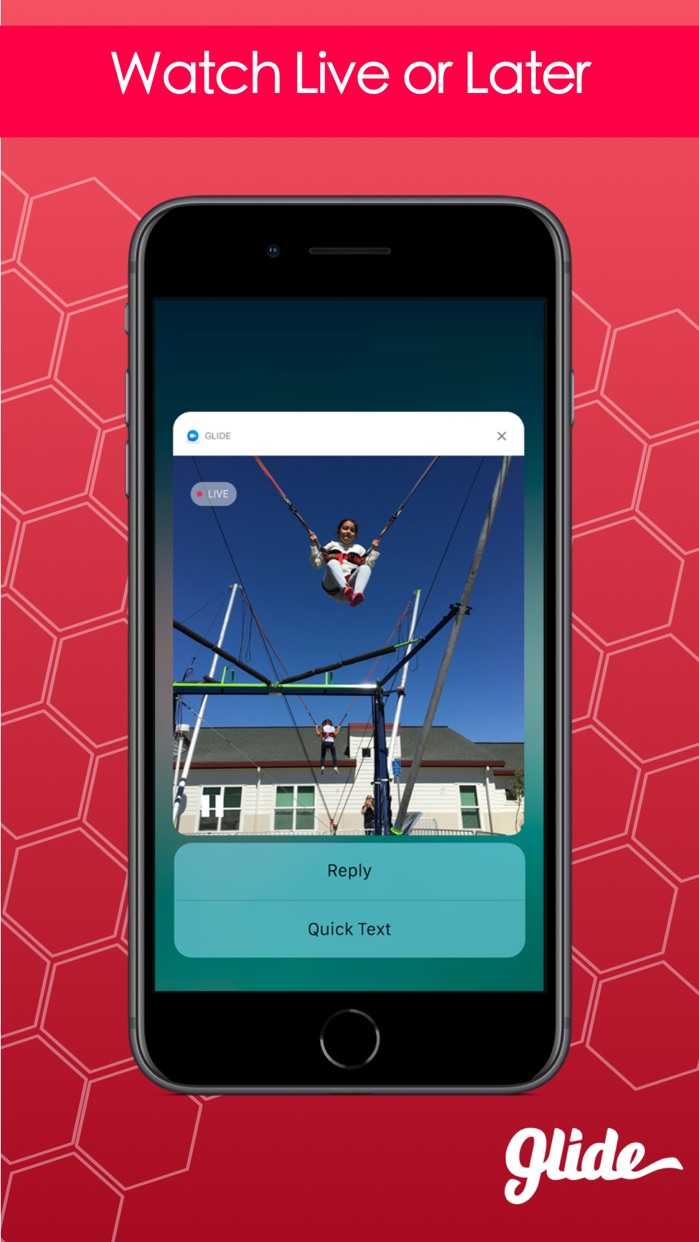 Glide - Live Video Messenger Screenshot