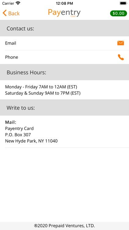 Payentry Card screenshot-6
