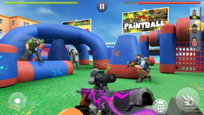 Paintball Shooting Games 3D free Resources hack