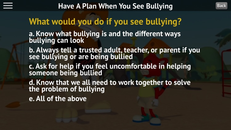 Stand Up to Bullying screenshot-4