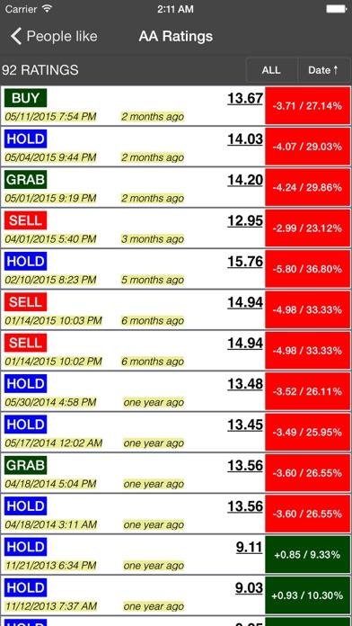 Screenshot #9 for Cheap Stocks