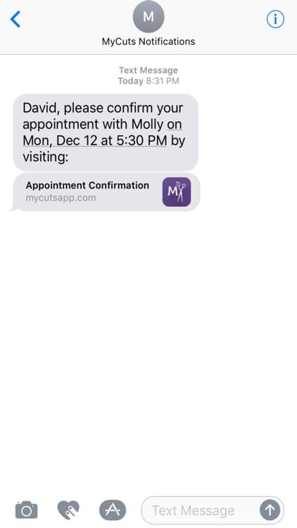 MyCuts - Salon Booking App screenshot-8