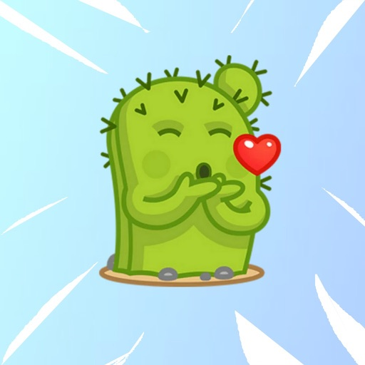 Cactus Emoji Stickers download