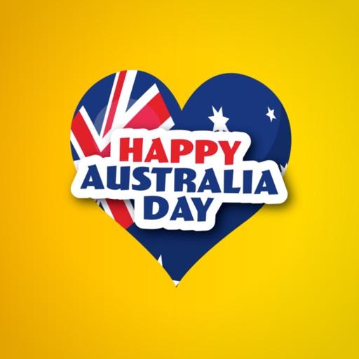 Australia Day Emoji Stickers
