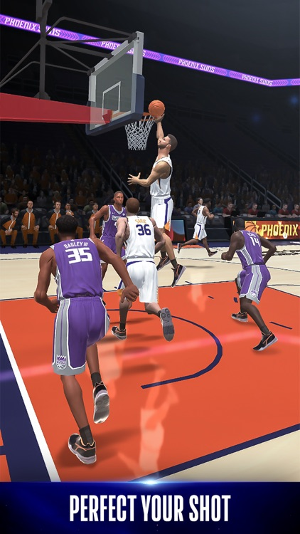 NBA NOW Mobile Basketball Game screenshot-2