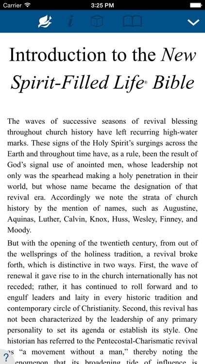 New Spirit Filled Life Bible