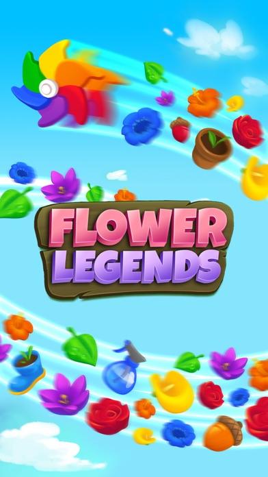Flower Legends Match 3 screenshot 5