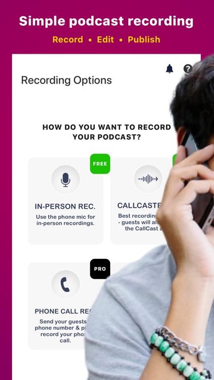 CallCast.co - Podcast Maker