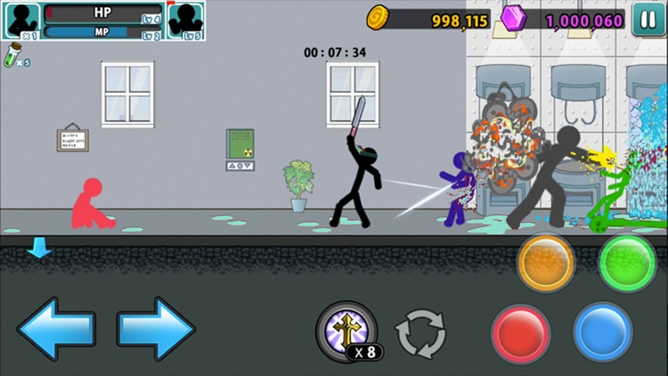 Anger of Stick 5 : zombie screenshot-5