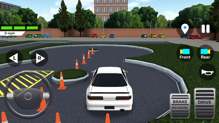 Car Driving School Simulator ! screenshot-0