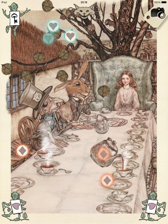 Alice in Wonderland, Arthur Rackham
