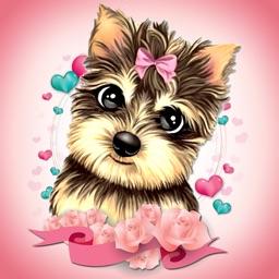 Cute Dog Stickers Emoji