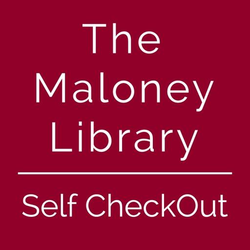 Maloney Library Self Checkout