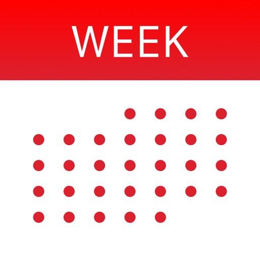 WeekCal iPad - Fully Unlocked