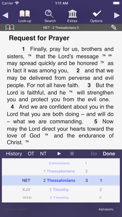 Touch Bible Loaded: Study App screenshot one