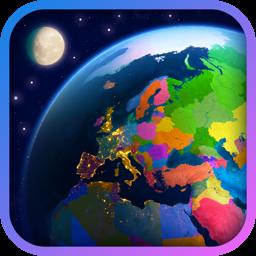 Ícone do app Earth 3D - World Atlas