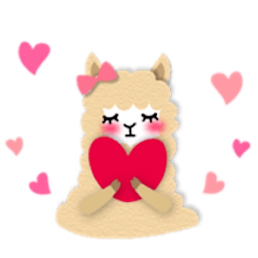 Adorable Alpaca Stickers