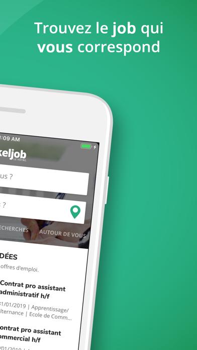 Keljob : offres d'emploi screenshot two