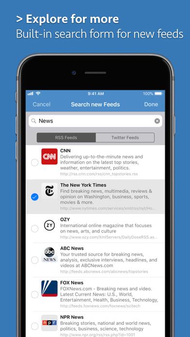Скриншот №9 к News Explorer