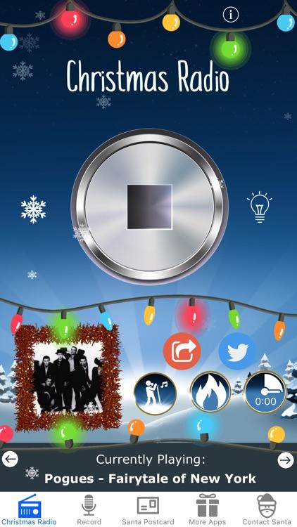 Christmas Radio USA screenshot-0