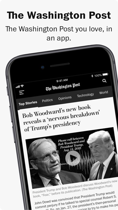 Washington Post Screenshot