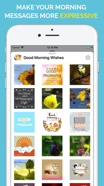 Good Morning Wishes Stickers screenshot-5