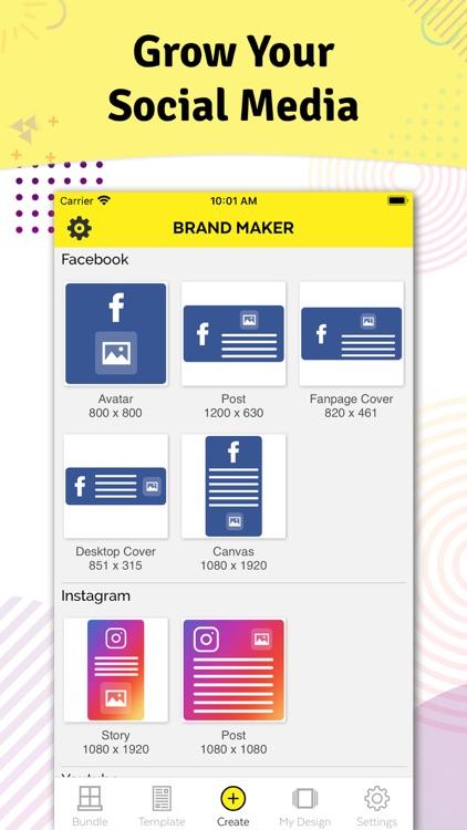 Brand Maker - Graphic Design screenshot-7