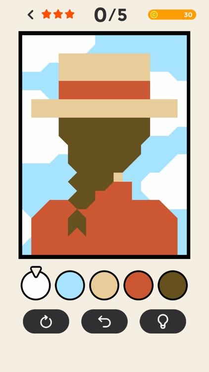 ERASE - coloring puzzle game screenshot-6