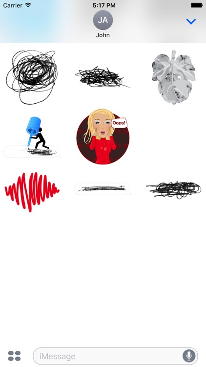 Oops - Animated Stickers screenshot-3