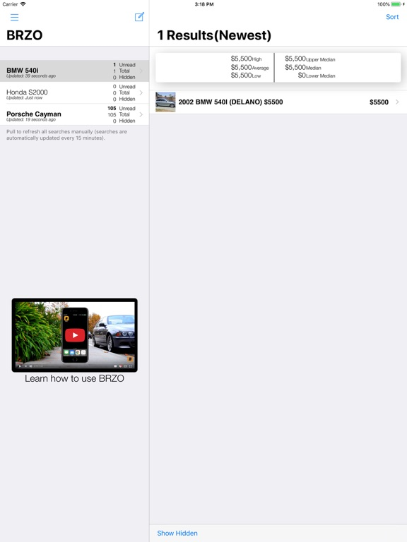 BRZO for Craigslist -Deals on Used Cars and Trucks screenshot