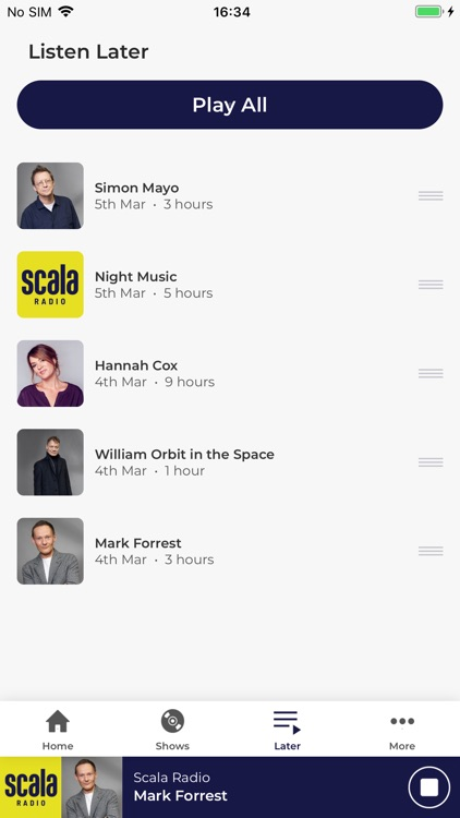Scala Radio screenshot-3