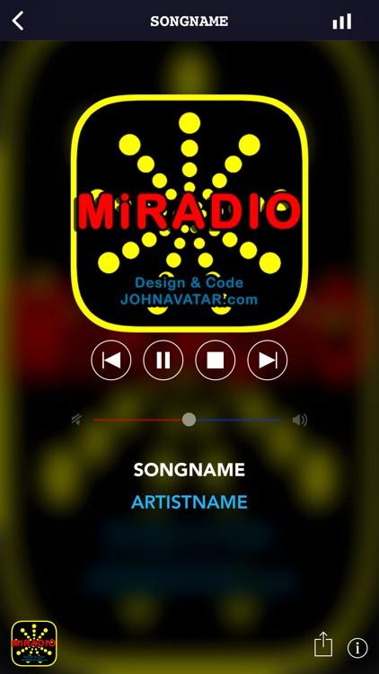 MiRADIO Internet (> SAT FM AM) screenshot-4