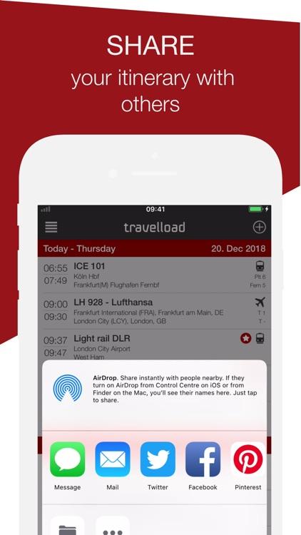 travelload itinerary manager screenshot-6