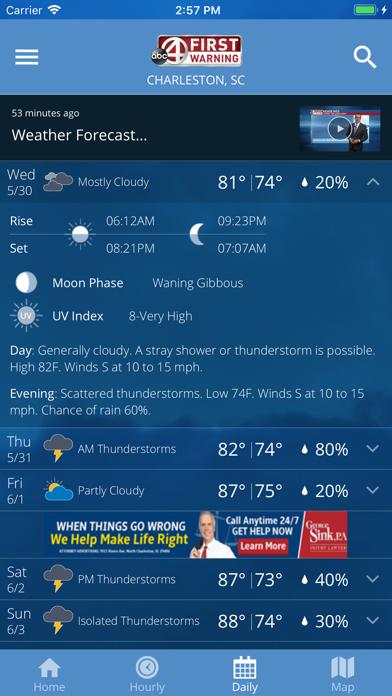 ABC News 4 Storm Trackerのおすすめ画像3