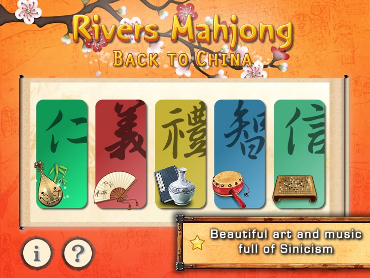 Rivers Mahjong: China HD screenshot-0