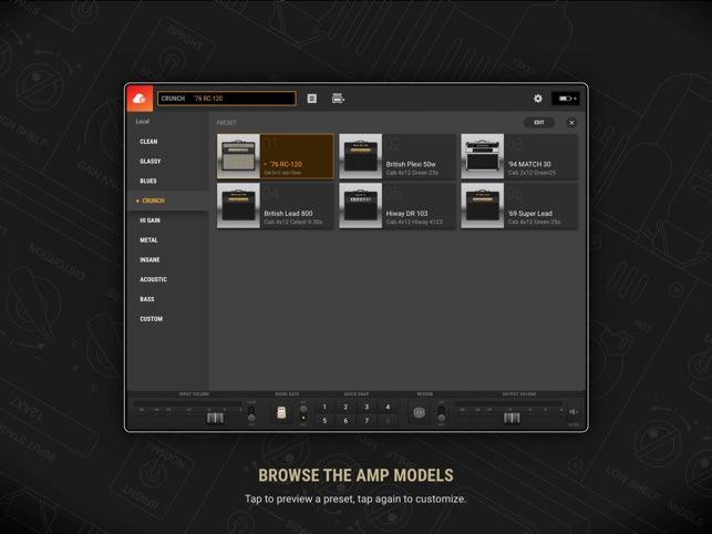 BIAS AMP 2 Screenshot