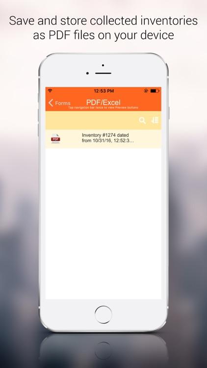 Heavy Equipment Inventory App screenshot-3