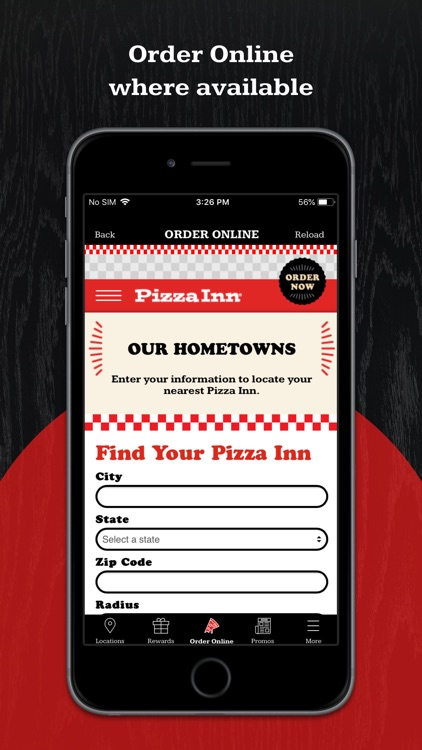 Pizza Inn Rewards