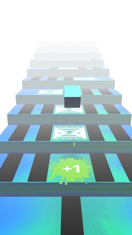 Cube Stars : Jump on stairs screenshot-0