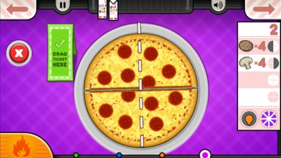 Papa's Pizzeria To Go! Screenshot