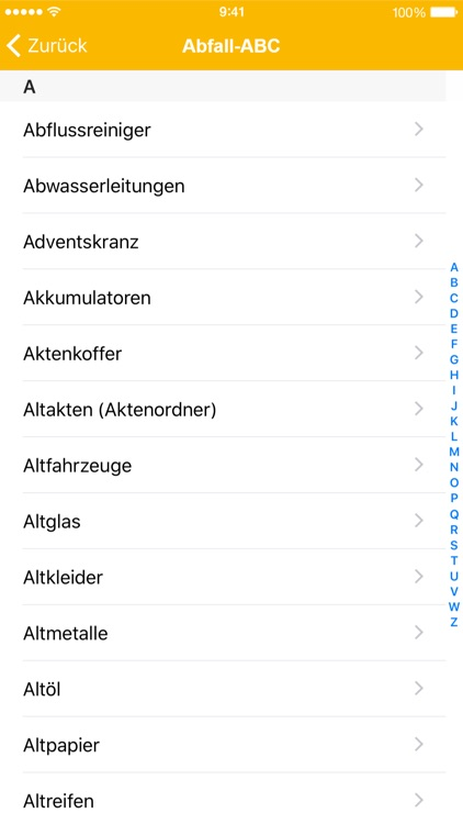 AbfallApp Landkreis Augsburg screenshot-4