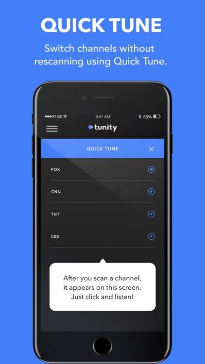 Tunity: Hear any muted TV screenshot-4