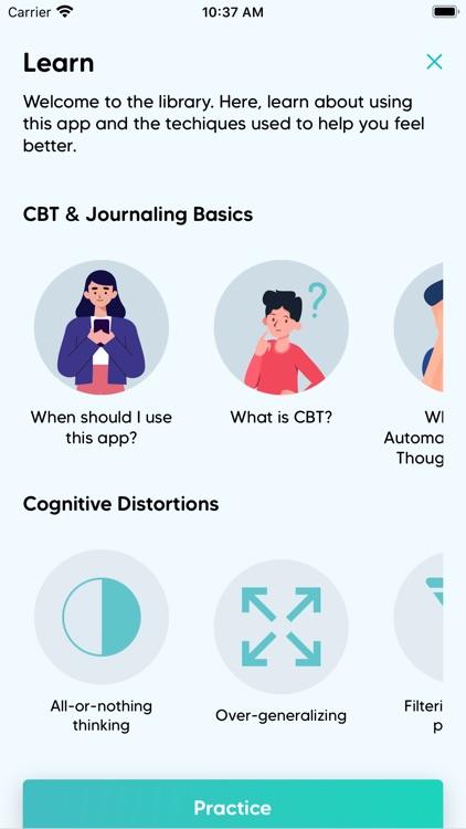 CBT Self-Care Journal screenshot-6