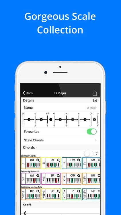 Piano Companion: Chords,Scales screenshot-4