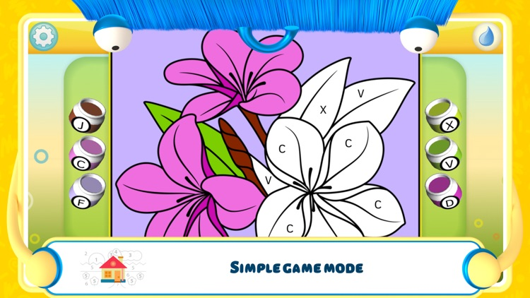Color by Numbers - Flowers + screenshot-2